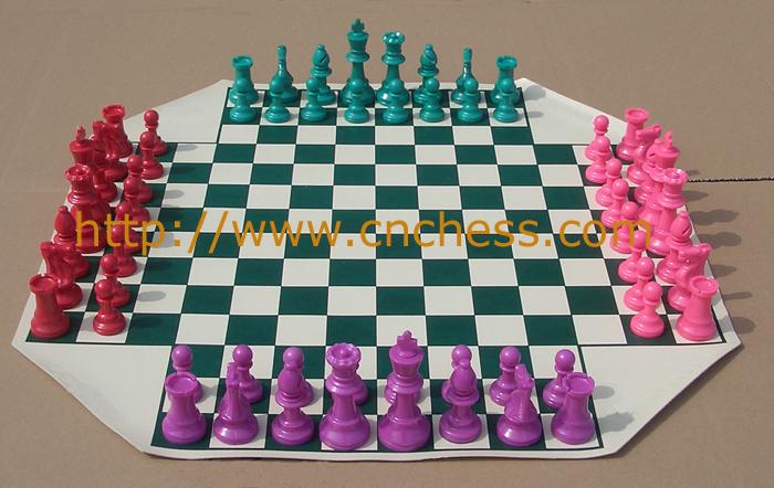 Four Player Chess Set 4 Chess Player Chess Set Chess Supplier