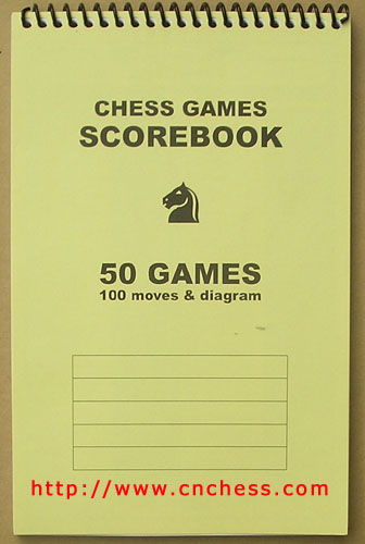 Chess ScorebookChess PlayerS ScorebookChess Game Scorebook