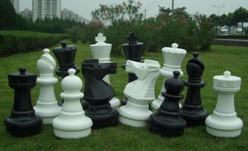 Giant Garden Chess Piece
